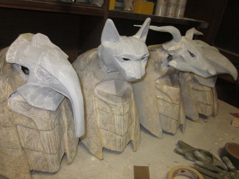 [TERMINE] stargate: bustes Anubis,Horus,Bastet,Thot,Khnoum Img_2822