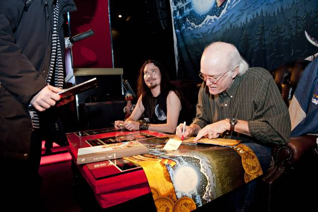 Signing session with Don Rosa in Helsinki 38743610