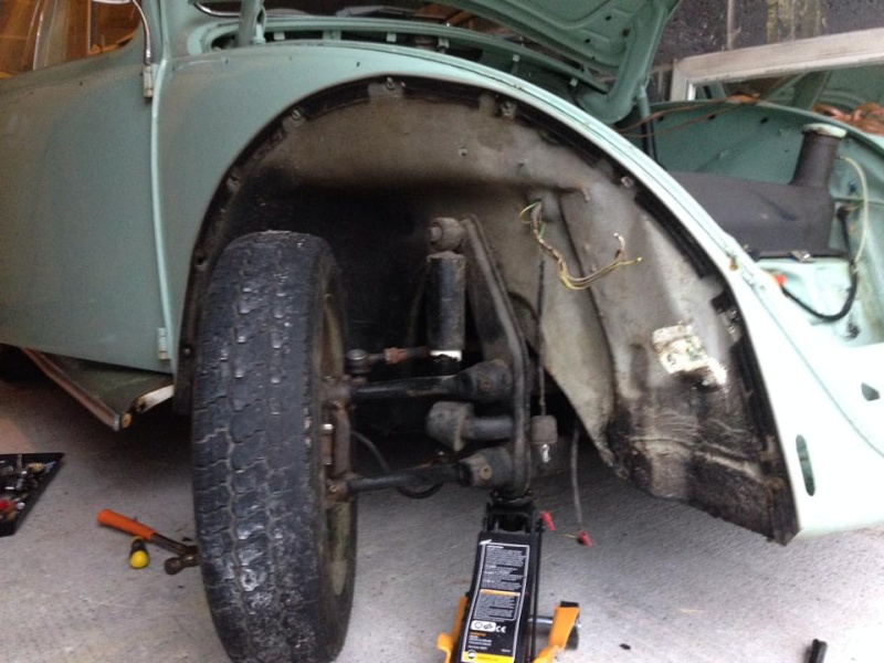 Whitebrow's 65 Bug Full Restoration 14546910