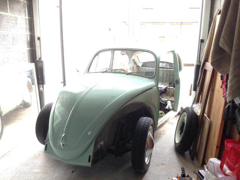 Whitebrow's 65 Bug Full Restoration 94430610