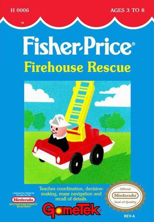 La licence Fisher price sur NES 18186810