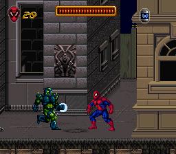 """La licence """"Spider-Man"""" sur Snes ! 20029_10"""