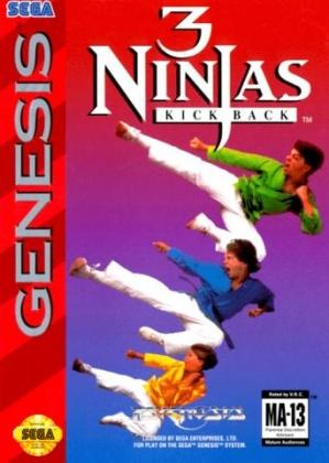 3 Ninjas Kick Back (MD) 3ninja10