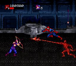 """La licence """"Spider-Man"""" sur Snes ! 84363810"""