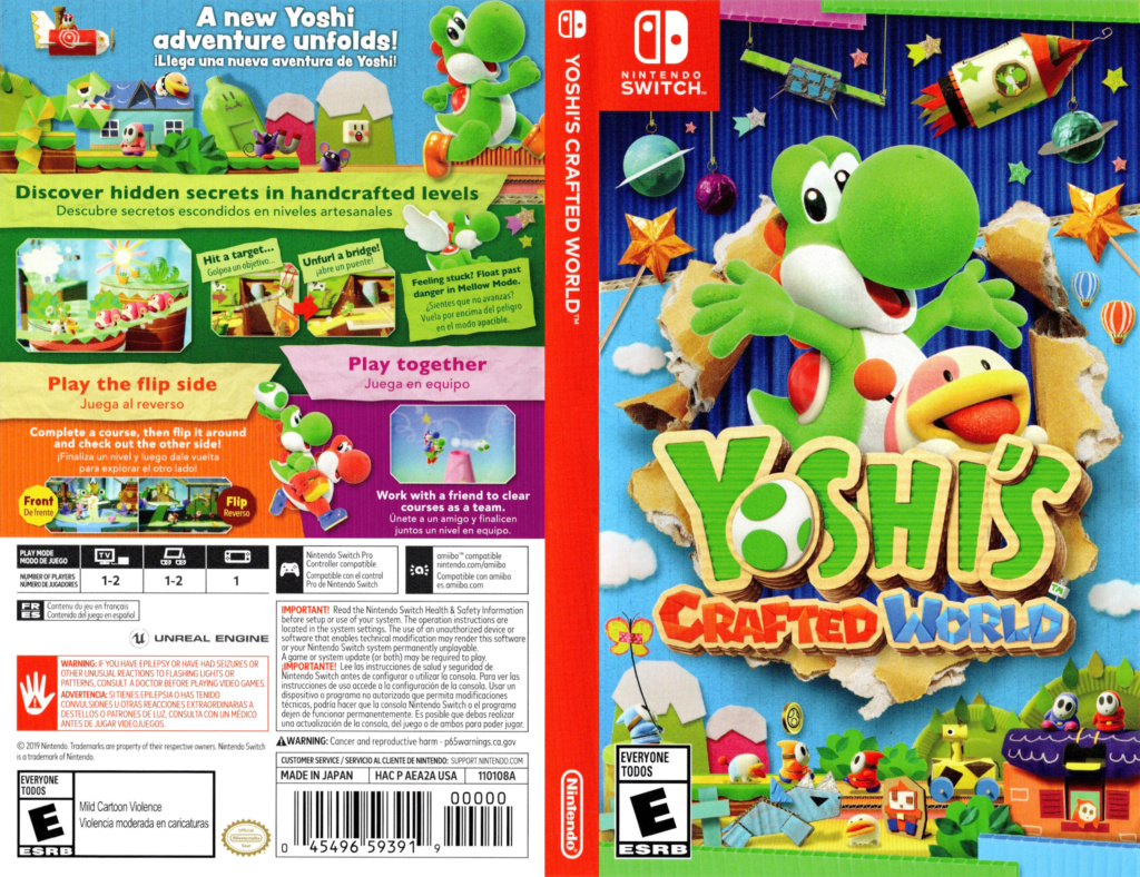 Yoshi's crafted world (Switch) Aea2a10