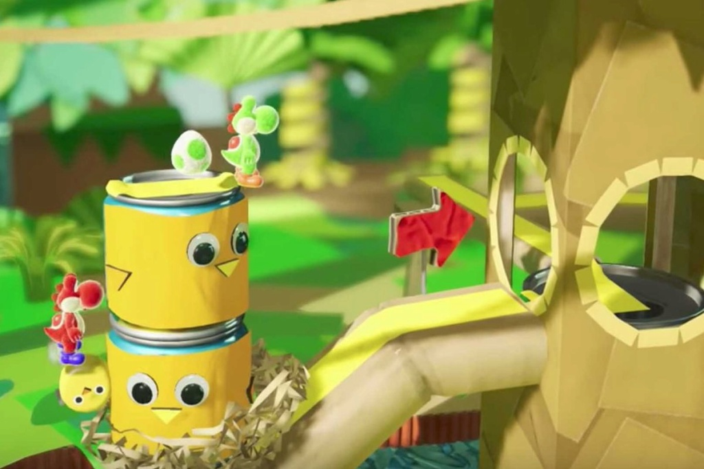 Yoshi's crafted world (Switch) Banner11