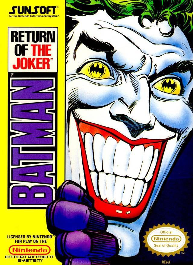 """La licence """"Batman"""" sur NES ! Batman12"""