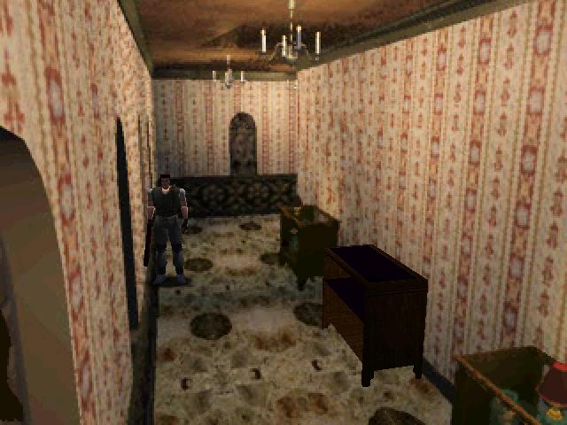 Resident Evil (PS1) Corrid10