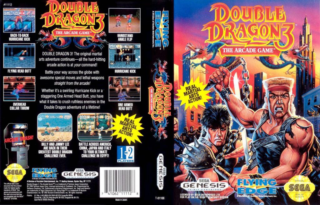 Double Dragon 3 : The Arcade Game (MD) Double17