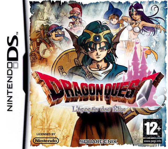 Dragon Quest : La trilogie Zénithienne (DS) Dragon25