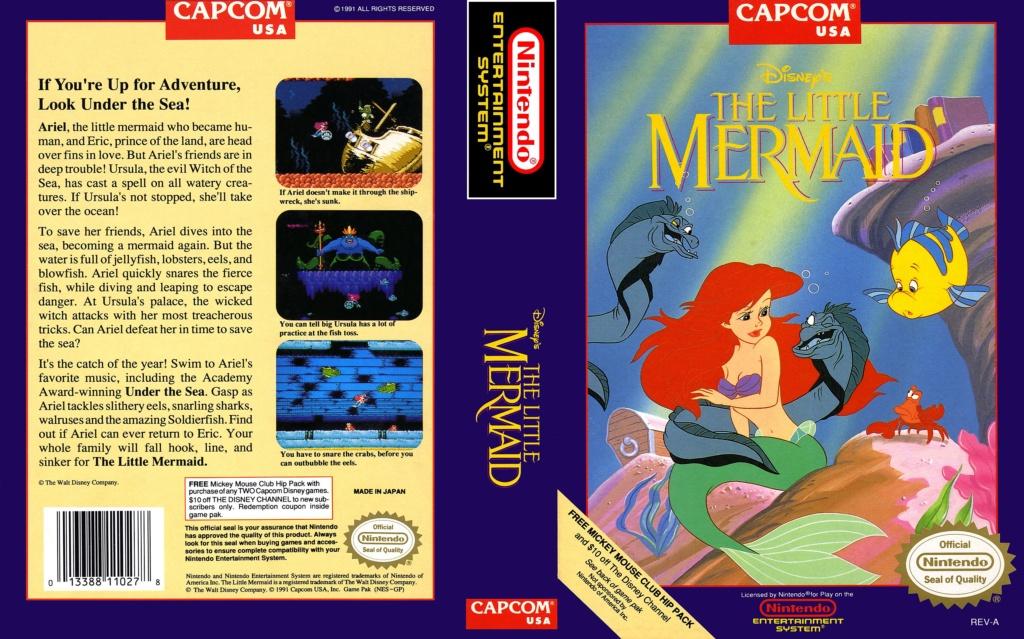 The Little Mermaid (NES) F2dbe710