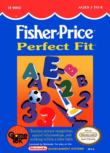 La licence Fisher price sur NES Fisher10