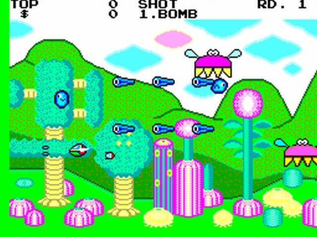Fantasy Zone (Master System) Fzonms10