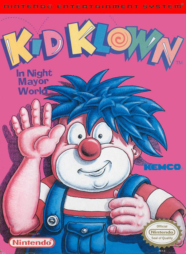Kid Klown in Night Mayor World (NES) Kid_kl10