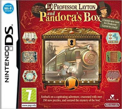 La licence Professeur Layton sur DS Profee10