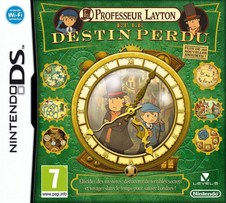 La licence Professeur Layton sur DS Profes15