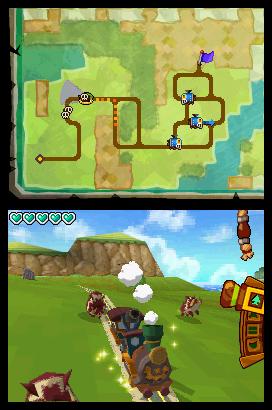 The legend of Zelda : Spirit tracks (DS) The-le11
