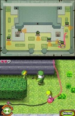 The legend of Zelda : Spirit tracks (DS) The-le12