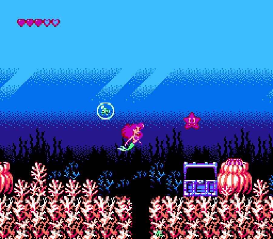 The Little Mermaid (NES) The_li10