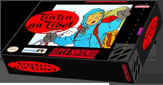 Tintin au Tibet (Snes) Tintin10
