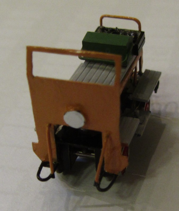 Motordraisine der LG in H0e Draisi25