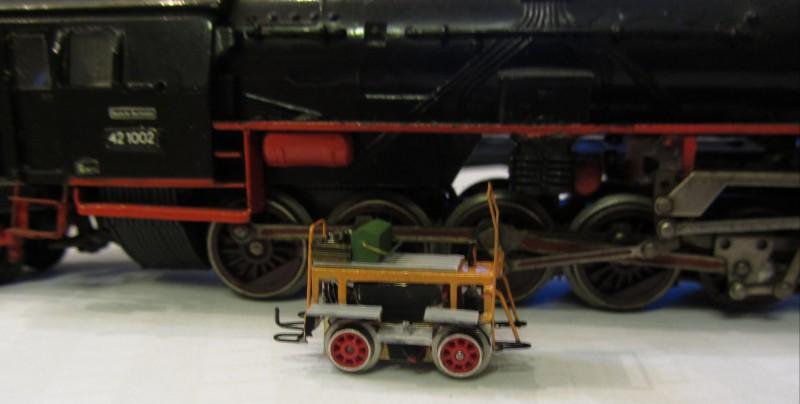 Motordraisine der LG in H0e Draisi26