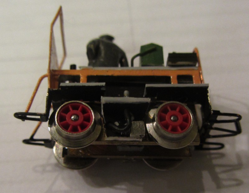 Motordraisine der LG in H0e Draisi44