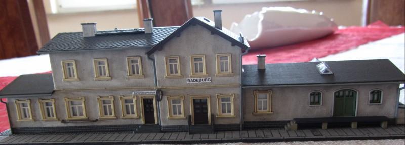 Bahnhofs-Diorama Radeburg 1:160 Forum-15