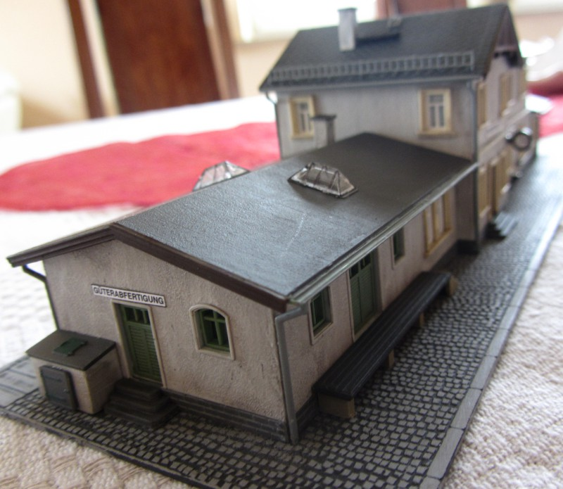 Bahnhofs-Diorama Radeburg 1:160 Forum-17