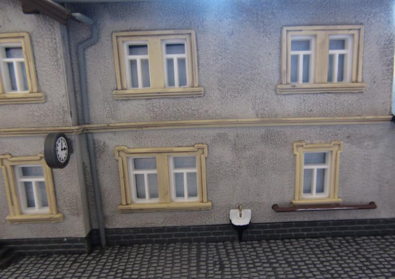 Bahnhofs-Diorama Radeburg 1:160 Forum-18