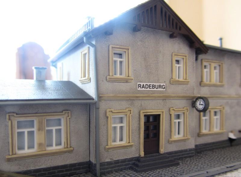 Bahnhofs-Diorama Radeburg 1:160 Forum-19