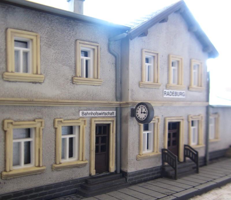 Bahnhofs-Diorama Radeburg 1:160 Forum-20