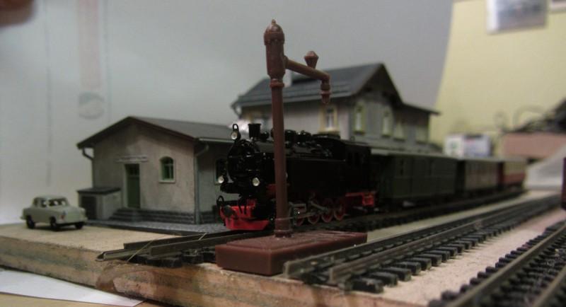 Bahnhofs-Diorama Radeburg 1:160 Forum-22