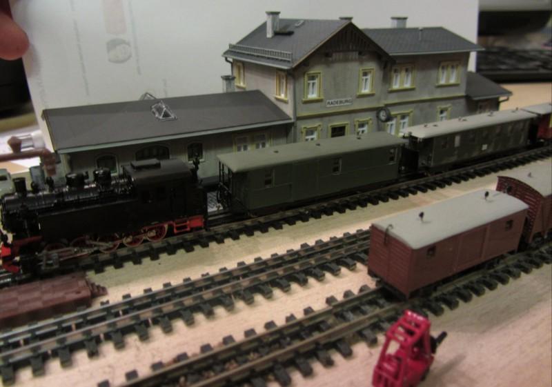 Bahnhofs-Diorama Radeburg 1:160 Forum-23
