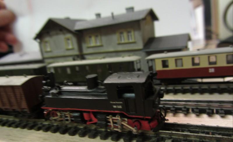 Bahnhofs-Diorama Radeburg 1:160 Forum-24