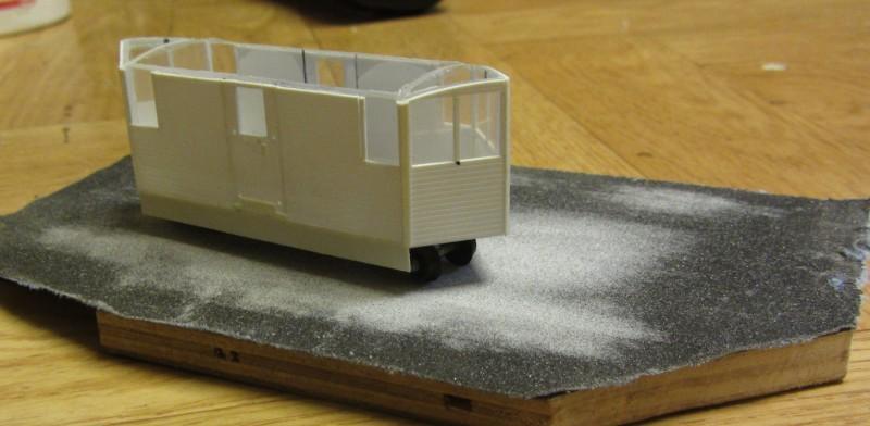 Schneepflug der LG in H0e Schnee16
