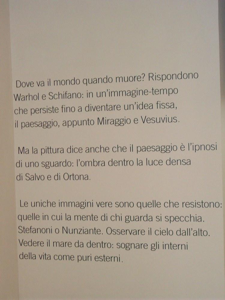 NUNZIANTE alla mostra DOPPIO SOGNO - da Warhol a Hirst da De Chirico a Boetti - Pagina 2 Sala_p10