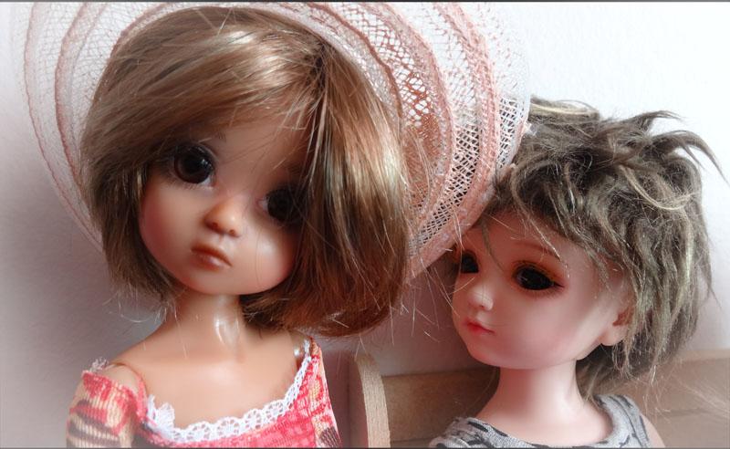 Mélissa et Yoyo la jalouse . 1016