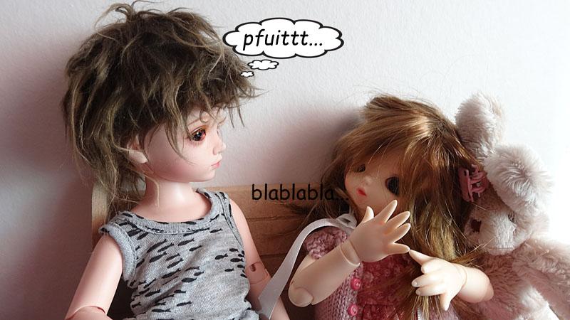Mélissa et Yoyo la jalouse . 142