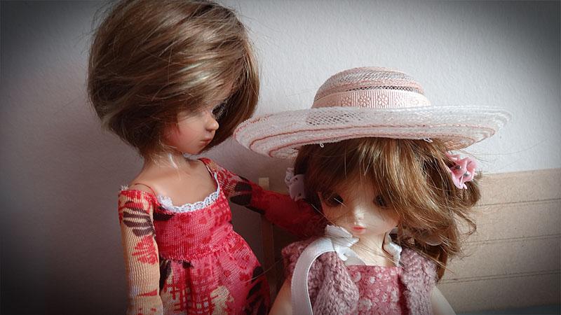 Mélissa et Yoyo la jalouse . 824