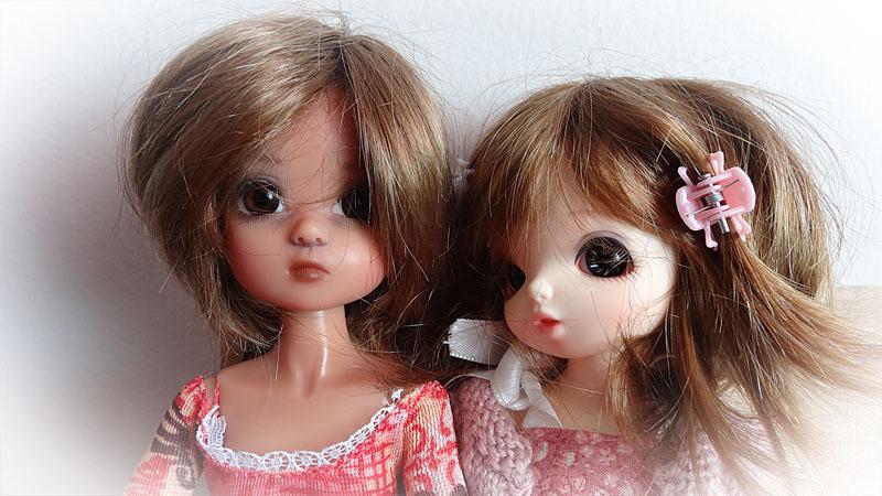 Mélissa et Yoyo la jalouse . 920