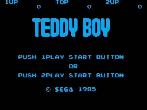 Teddy Boy : All LvL 0111