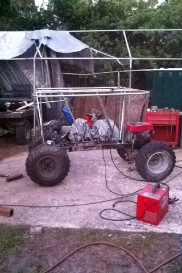"""""""Southern Styled"""" & """"Don't Judge""""  Double Florida Style Swamp Buggy build Image203"""