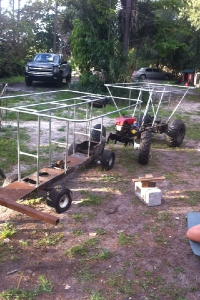 """""""Southern Styled"""" & """"Don't Judge""""  Double Florida Style Swamp Buggy build Image217"""