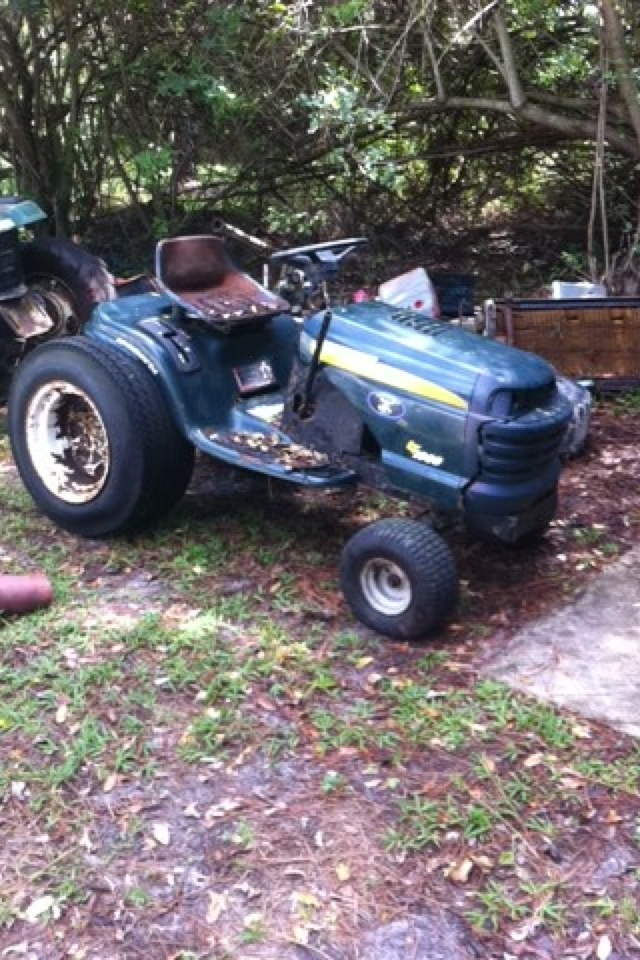 """Craftsman lt1000 mud mower build """"Joey"""" Image254"""