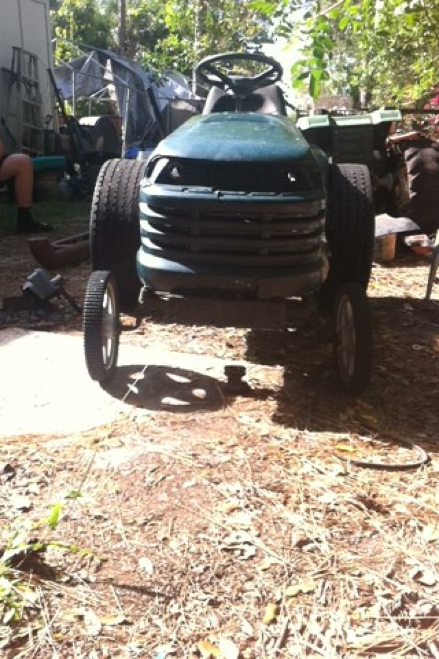 """Craftsman lt1000 mud mower build """"Joey"""" Image267"""