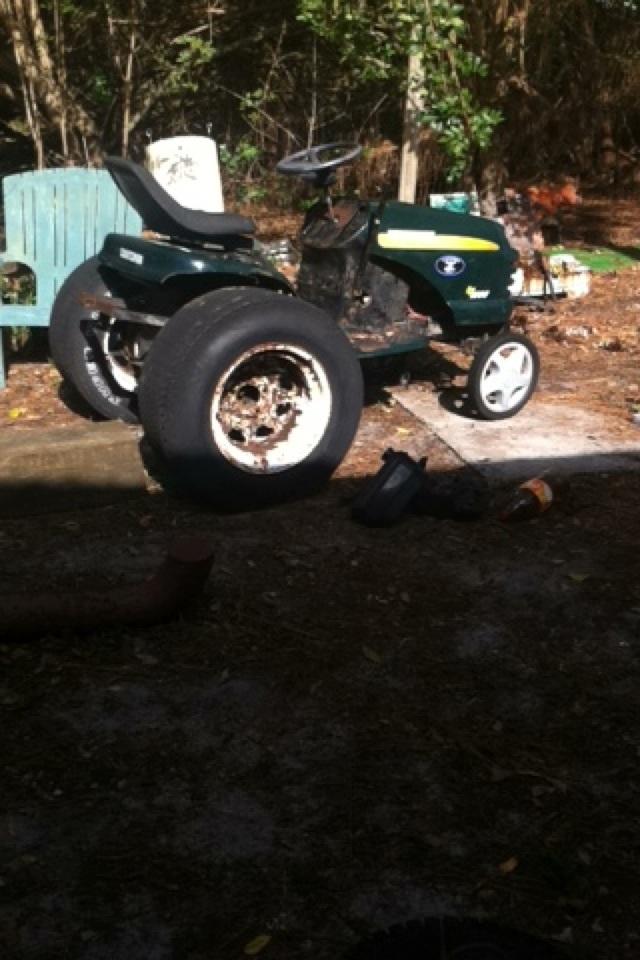 """Craftsman lt1000 mud mower build """"Joey"""" Image268"""