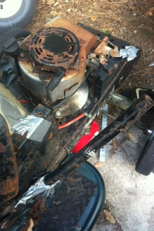 """Craftsman lt1000 mud mower build """"Joey"""" - Page 2 Image276"""