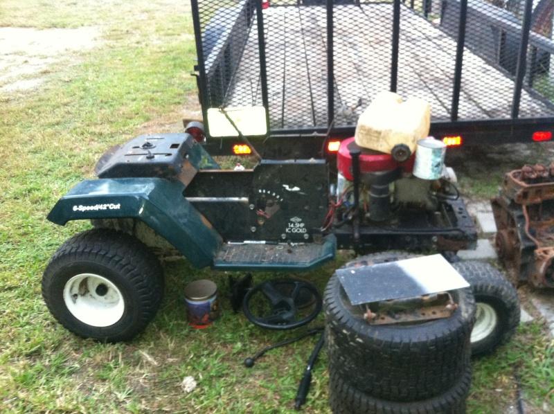 craftsman drag race mower Image99