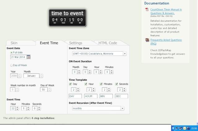 """Avis d'utilisation du compteur """"compte à rebours de lancement"""" du forum Compte12"""